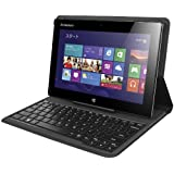 IdeaPad Miix 10 office(Atom Z2760 1.8GHz/2GB/64GB/Win8(32bit)/10.1型HD IPS(1,366x768)10点マルチタッチ/キーボード付カバー標準搭載/Microsoft Office Home and Business 2013/シルバー) 59375051