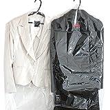 洋服ビニールカバー 50cm×100cm レディーススーツ・ワンピース用100枚