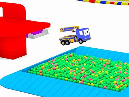 病院を建てよう&かくれんぼ: タイニートラックと一緒に学ぼう