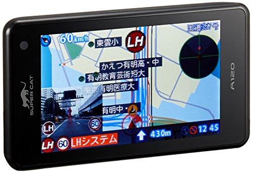 ユピテル フルマップレーダー探知機 A120 GPSデータ13万6千件以上 小型オービスレーダー波受信 OBD2接続 GP...