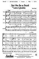 Rene Clausen: Set Me As A Seal (A New Creation) - TTBB / ルネ·クラウセン: セット・ミー・アズ・ア・シール (新作) - 男声四部 合唱楽譜