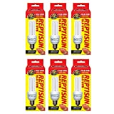 6-PACK ReptiSun 10.0 UVB Mini Compact Fluorescent (13 watts)
