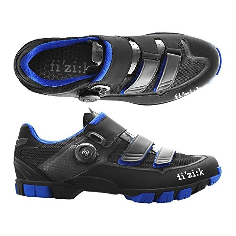 補うクスコピグマリオン(fizik/フィジーク)(自転車用シューズ/靴用品)M6B UOMO(メンズ)BOA MTBシューズ BK/ブルー 39