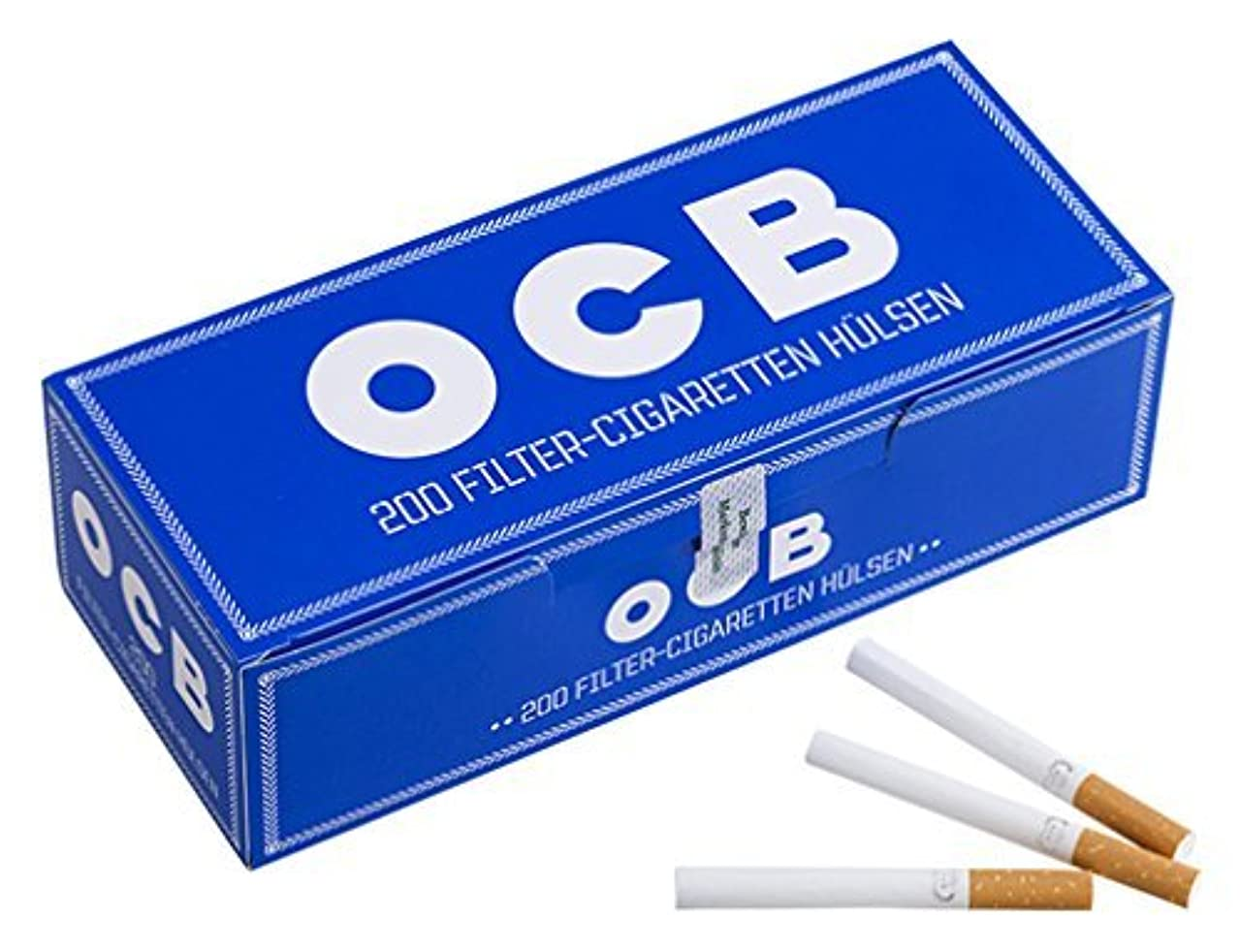 一時的ジャベスウィルソン発行する柘製作所(tsuge) OCB チューブ [200本入り] #78878 ×4個パック 手巻きタバコ MYO