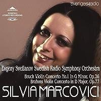 SSS0218 ブラームス、ブルッフ:ヴァイオリン協奏曲 マルコヴィチ(ヴァイオリン)スヴェトラーノフ(指揮)
