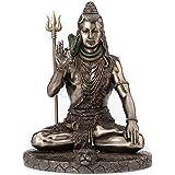 Veronese Design Lord Shiva in Meditation Pose Statue Sculpture - Hindu God and Destroyer of Evil