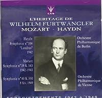 Mozart;Syms.39 & 40/Haydn