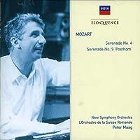 Mozart: Serenades No 4 & 9 (Posthorn)