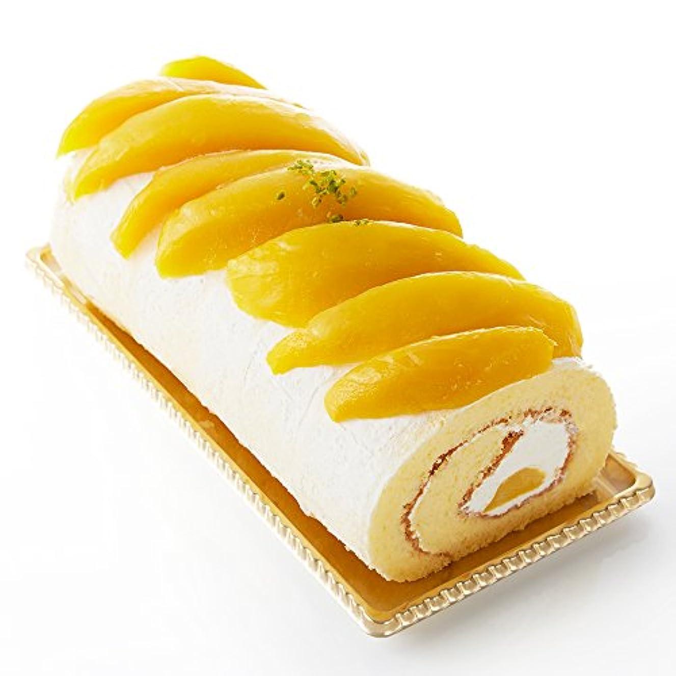 変化であるでる新宿高野 Fruity マンゴーロール フルーツケーキ [内祝い/手土産/ハロウィン] 洋菓子 スイーツギフト (600g×1個) #49108