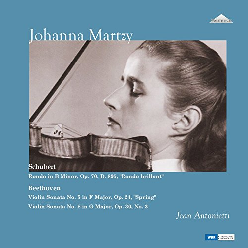 ヨハンナ・マルツィ 未発表スタジオ録音集 (Schubert : Rondo brillant | Beethoven : Violin Sonata No.5 & 8 / Johanna Martzy) [2LP] [Limited Edition] [日本語帯・解説付] [Analog]