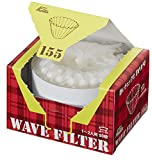 カリタ コーヒーフィルター ウェーブシリーズ 1~2人用 50枚入り ホワイト KWF-155 #22211