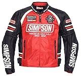 SIMPSON ジャケット メッシュジャケット レッド MSJ-6117
