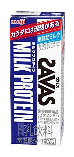 明治 (ザバス) ミルクプロテイン 200ml紙パック×24本入...