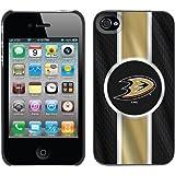 iPhone 4/ 4s Thinshield Case with NHL Anaheim Ducks、カラーデザイン 401-8593-BK-FBC