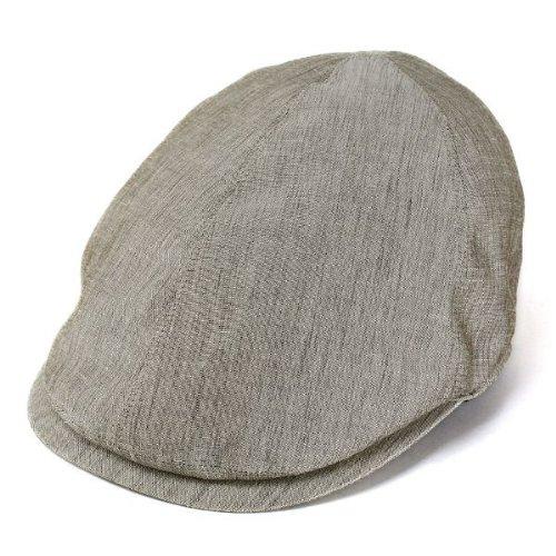 帽子 ハンチング メンズ/春夏/紳士/ボルサリーノ/borsalino/麻混/ハンチング帽/ベージュ(Lサイズ)