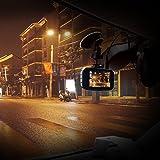 Toguard ドライブレコーダー ドラレコ 1200万画素 フルHD WDR 動き検知 常時録画 駐車監視 上書き録画 Gセンサー搭載 LDWS/LDWS 日本語説明書付き 【日本国内永久保証】