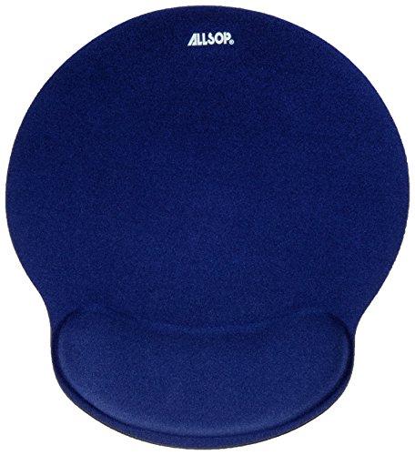 Memory Foam マウスパッド リストレスト付き ブルー 30206