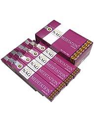 VIJAYSHRE(ヴィジェイシリー ゴールデン) NAG MEDITATION ゴールデン ナグメディテーション香 スティック 12箱セット
