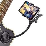 【Log Total】iPhone スマートフォン ギター スタンド ホルダー 歌詞 コード 見ながら 演奏できる