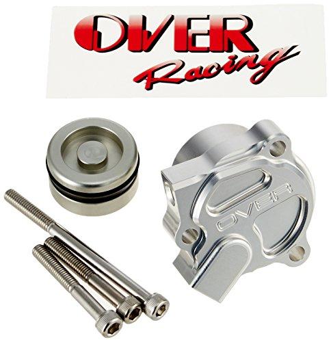 オーヴァーレーシング(OVER RACING) ライトタッチ クラッチキット クラッチリリースシリンダー: シルバーアルマイト仕上げ GPZ900R NINJA[ニンジャ] 84-78-10