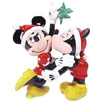 Salt & Pepper Shakers - Disney - Mickey & Minnie Mistletoe New Toys 18917