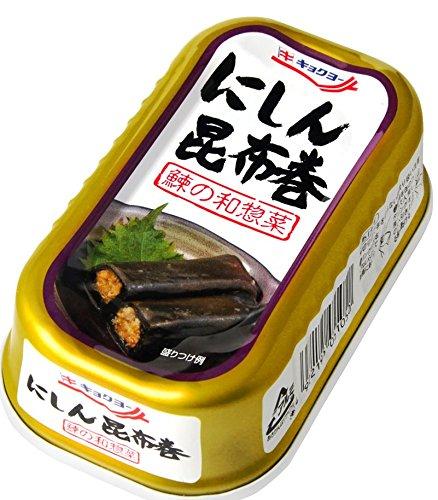 にしん昆布巻 EO缶100g