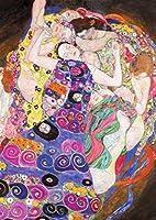 1000ピース ジグソーパズル  クリムト ヴァージン Gustav Klimt:Die Jungfrau  (70 x 50 cm)