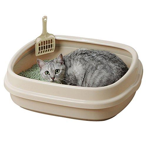 アイリスオーヤマ ネコのトイレ NE-550 ミルキーブラウン