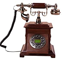 ソリッドウッドレトロ電話で牧歌的な家 ( サイズ さいず : 一般 )
