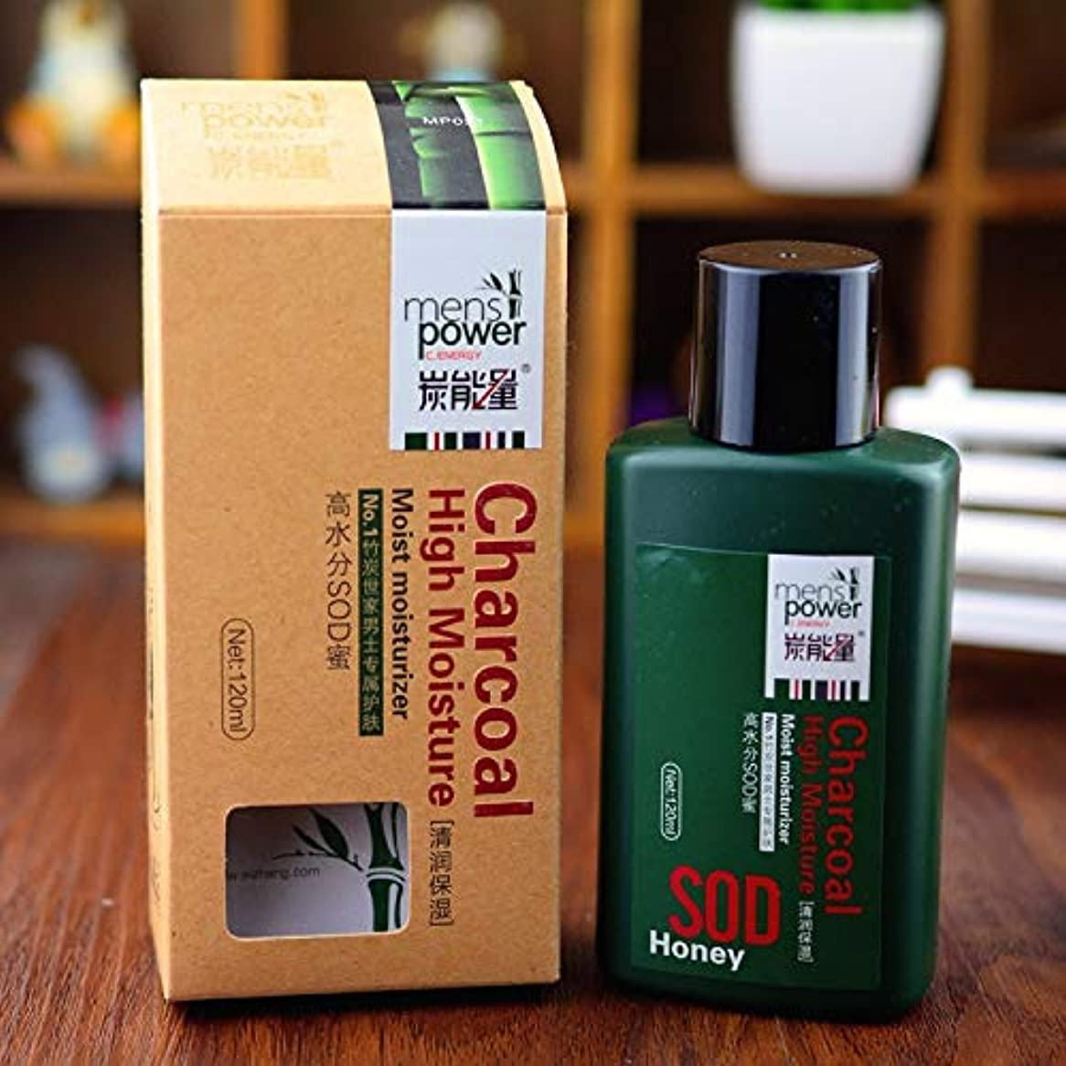 舌イタリアの消毒剤男性モイスチャライジングクリーム120グラムケア炭モイスチャライザーアンチリンクルクリーム寧フェイスケア