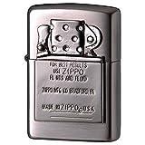 ZIPPO(ジッポー) ライター シルバー メタル エンブレム インサイドユニット メタル貼り ニッケル 202M-UNIT