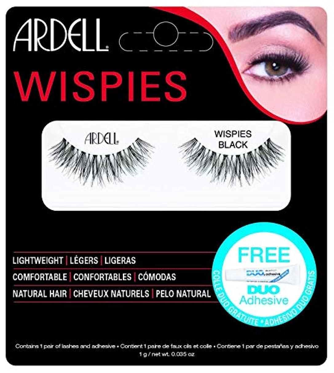 ヒョウアライメント企業ARDELL False Eyelashes - Invisibands Wispies Black