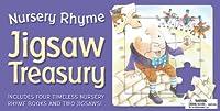 Jigsaw Treasury: Nursery Rhyme: Includes Four Timeless Nursery Rhyme Books and Two Jigsaws!