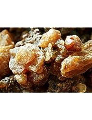 Oman ロイヤルフランキンセンスブランド認定オーガニックミルラ樹脂 (Commiphora myrrha) 1/2 lb ブラウン