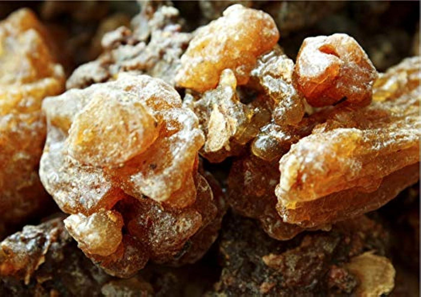 結婚反乱桃Oman ロイヤルフランキンセンスブランド認定オーガニックミルラ樹脂 (Commiphora myrrha) 1/2 lb ブラウン