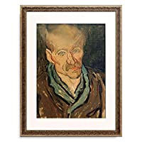 フィンセント・ファン・ゴッホ Vincent Willem van Gogh 「Portrait of a patient in the hospital Saint-Paul」 額装アート作品