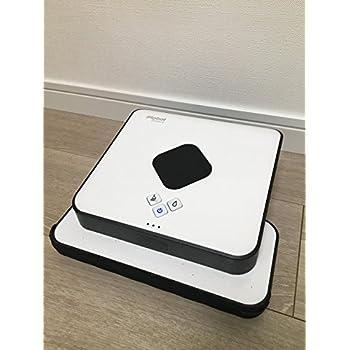 ブラーバ380j アイロボット 床拭きロボット  簡単操作 水拭き・乾拭き 急速充電 落下防止 B380065