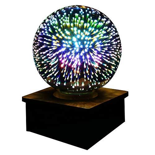 KY LEE LED電球花火の花 3.5W E26 3D電球 創造的なカラフルな装飾ランプ G125 フィラメント花火ボ...