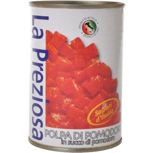 ラ・プレツィオー トマト缶 ダイス 400g