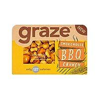 バーベキュークランチ31グラム (Graze) (x 2) - Graze BBQ Crunch 31g (Pack of 2)