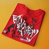 阿波踊り 半袖Tシャツ レッド 大人用 Lサイズ