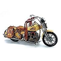 東洋石創 ブリキの置物(motorcycle western) 27216