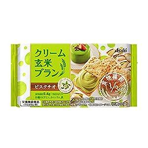 アサヒグループ食品 クリーム玄米ブラン ピスタチオ 72g×6袋