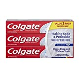 コルゲートベーキングソーダ&過酸化物ホワイトニング爽やかなミントの歯磨き粉 226g x 3p-Colgate Baking Soda & Peroxide Whitening ..
