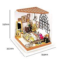 アートキャビンステレオ DIY 手組み立てモデル創造的なギフト,Brown