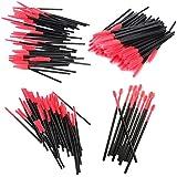 【ノーブランド品】化粧筆 まつげブラシ スクリューブラシ 4種類 使い捨て 約200本入り