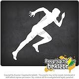アディダス ランニング ランナーズマラソンスプリント Runners Marathon Sprint 10cm x 10cm 15色 - ネオン+クロム! ステッカービニールオートバイ