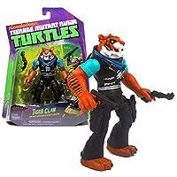 Playmates Year 2014 Teenage Mutant Ninja Turtles TMNT 5 Inch Tall Figure - Dreaded Assassin and Bounty Hunter TIGER CLAW