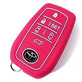 ヴェルファイア 30系 アルファード 30系 AYH3# GGH3# AGH3# スマートキー カバー キーカバー トヨタ 専用設計 シリコン スマピタ ピンク 傷防止 選べるカラー