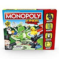 Hasbro Gaming A6984e86 Monopoly Junior Game